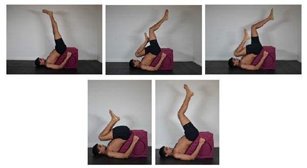 exerciții din apă varicoasă în yoga