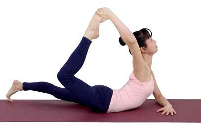 urdhva dhanurasana / raised bow pose  asana