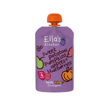 ELLA'S KITCHEN - 有機番薯,南瓜,蘋果及藍莓 - 120G