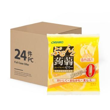 ORIHIRO - 蒟蒻啫喱-西柚味(0卡路里)-原箱 - 120GX24