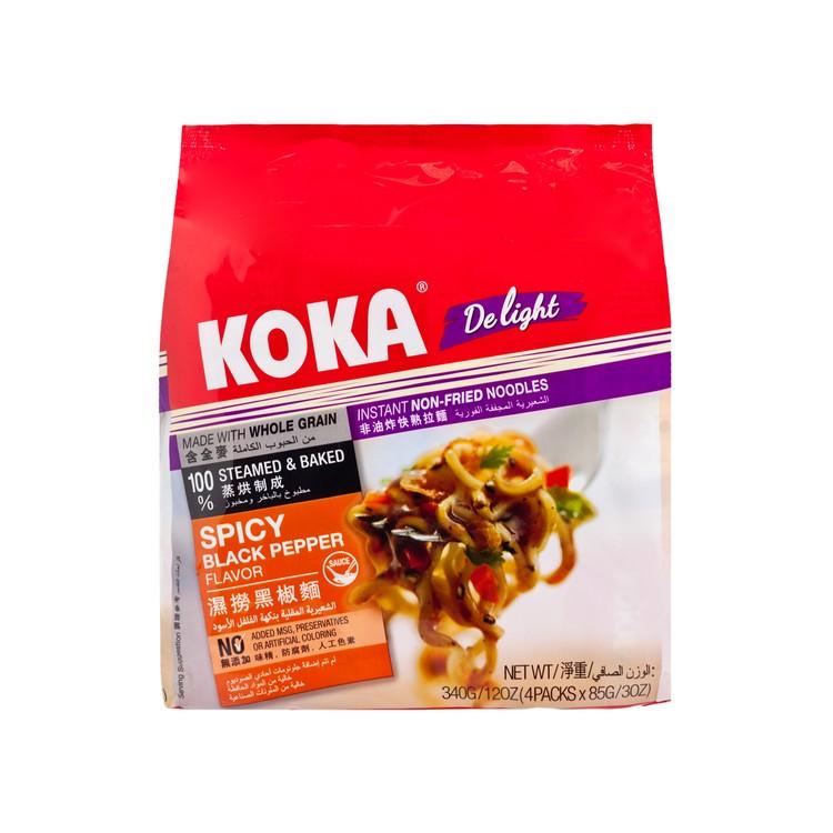 KOKA - INSTANT NOODLE-SPICY BLACK PEPPER (EXPIRY DATE : 01 Apr 2021) - 85GX4