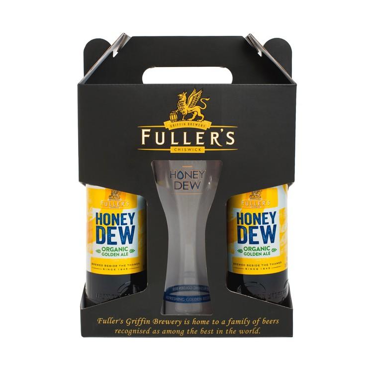 FULLER'S - 蜂蜜啤酒禮盒裝 - 500MLX2 + PC