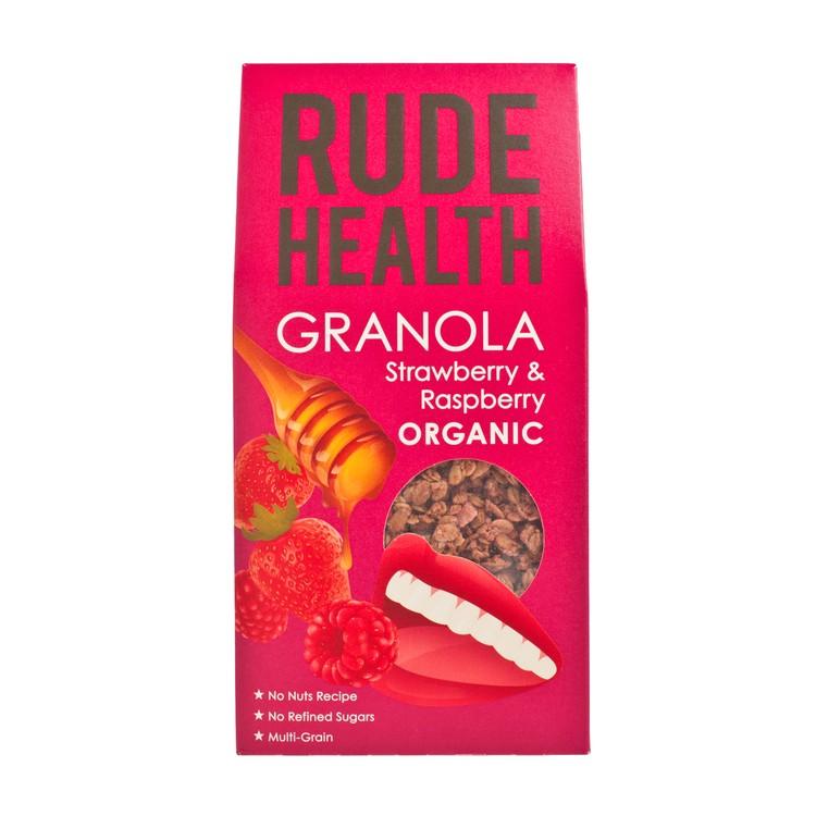 RUDE HEALTH (PARALLEL IMPORT) - ORGANIC GRANOLA-STRAWBERRY & RASPBERRY - 450G