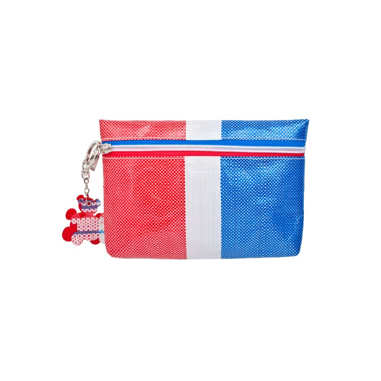 RED WHITE BLUE 330 - MULTI-PURPOSE BAG WITH KEYCHAIN - PC