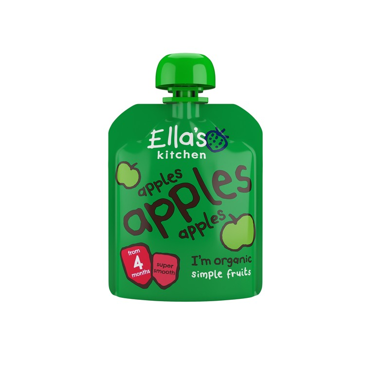 ELLA'S KITCHEN - ORGANIC APPLES SMOOTHIE FRUIT FIRST TASTE - 70G