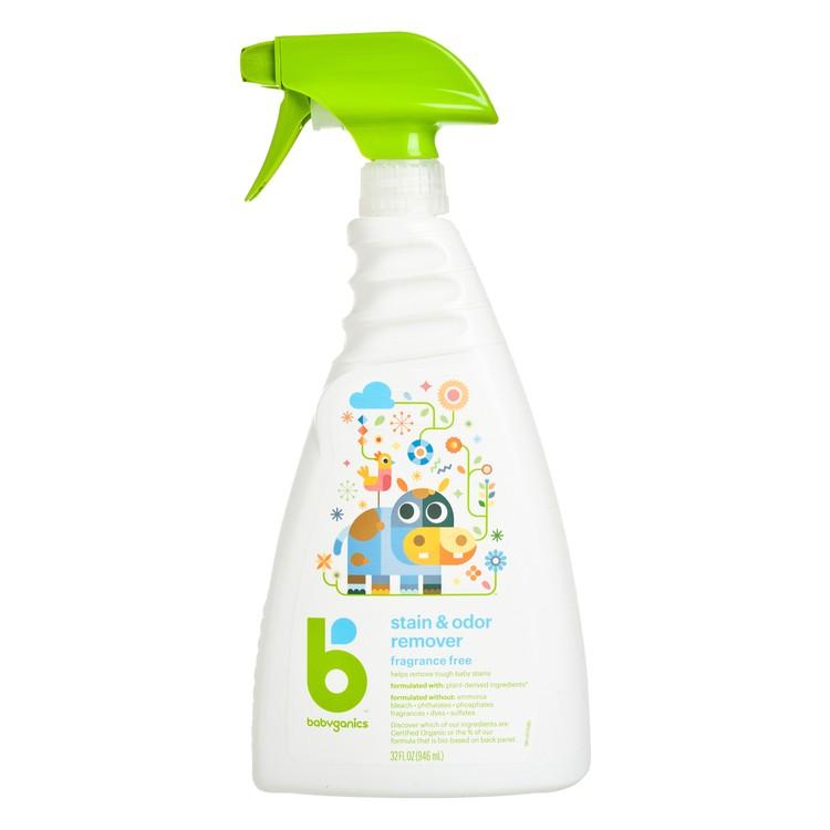 BABYGANICS(平行進口) - 衣物去漬清潔劑-無香味 - 946ML