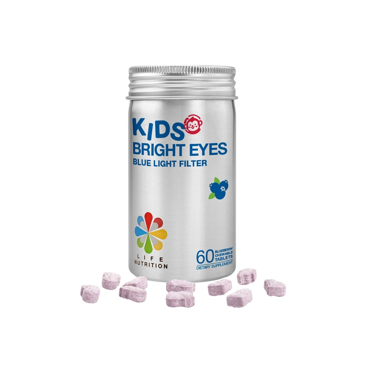 LIFE NUTRITION - KIDS BRIGHT EYES (EXPIRY DATE : 02 Apr 2021) - 60'S
