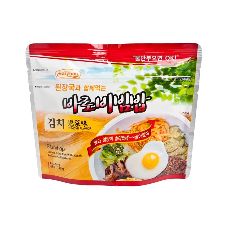 EASYBAB - INSTANT RICE- KIMCHI FLAVOR-WITH KOREAN BEAN-PASTE SOUP - 140G