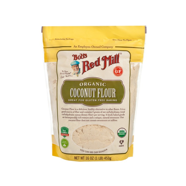 BOB'S RED MILL - ORGANIC COCONUT FLOUR - 453G