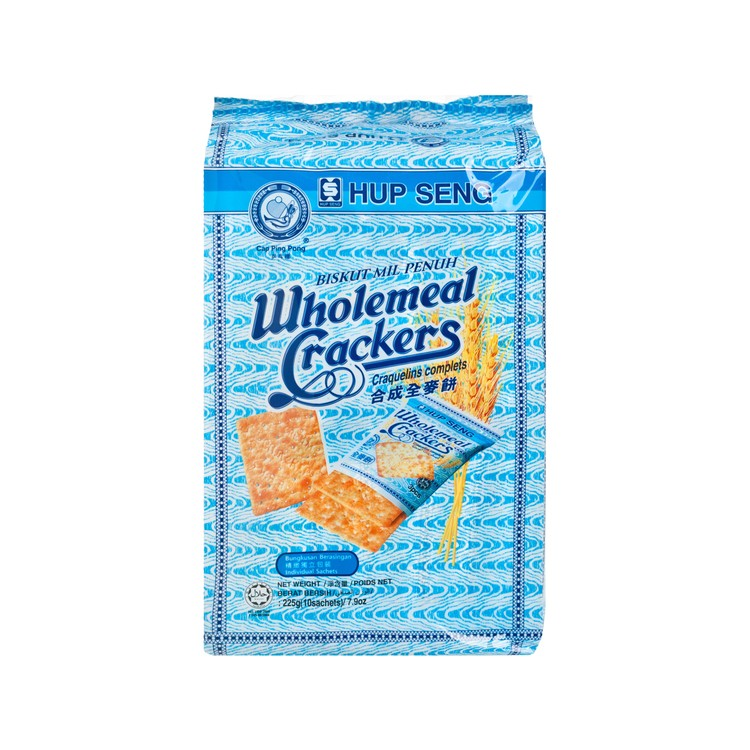 SZE HING LOONG - WHOLEMEAL CRACKERS - 225G