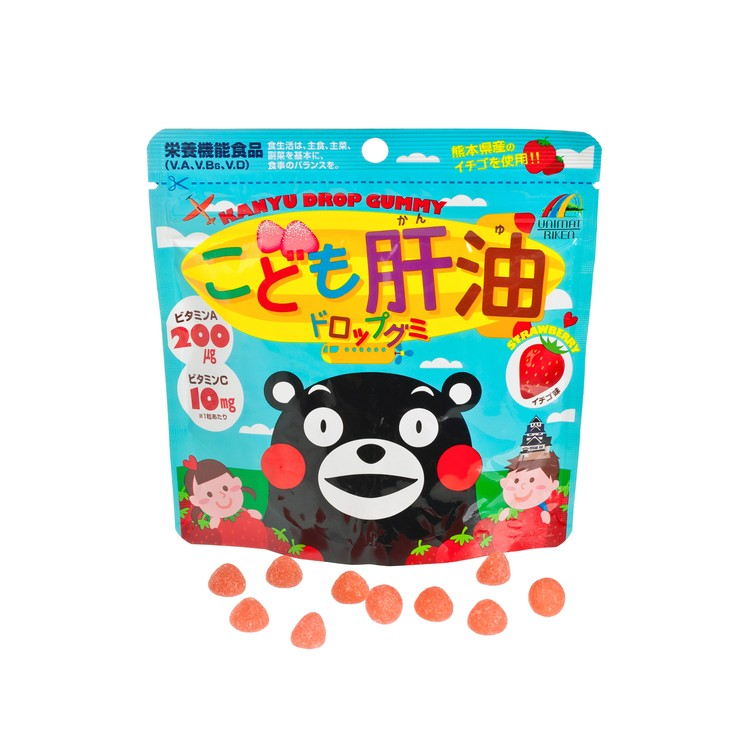 UNIMAT - KANYU GUMMY STRAWBERRY FLAVOR - 97G