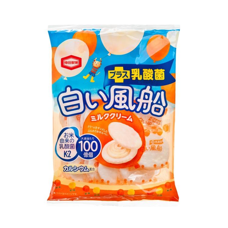 KAMEDA 龜田 - 白氣球牛奶味忌廉餅 - 18'S