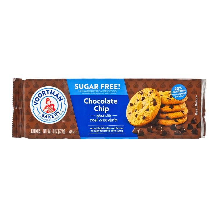 VOORTMAN COOKIES - SUGAR FREE CHOCOLATE CHIP - 227G