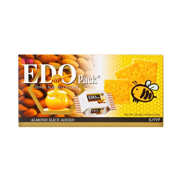 EDO PACK - 杏仁餅-蜜糖 - 133G