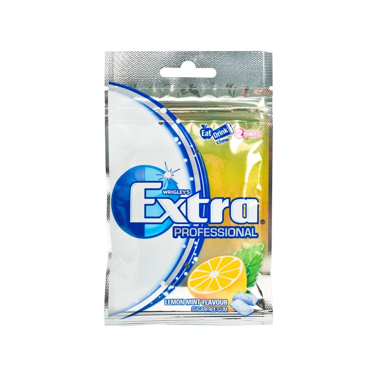 EXTRA - SUGARFREE CHEWING GUM-PROF LEMON MINT - 20'S