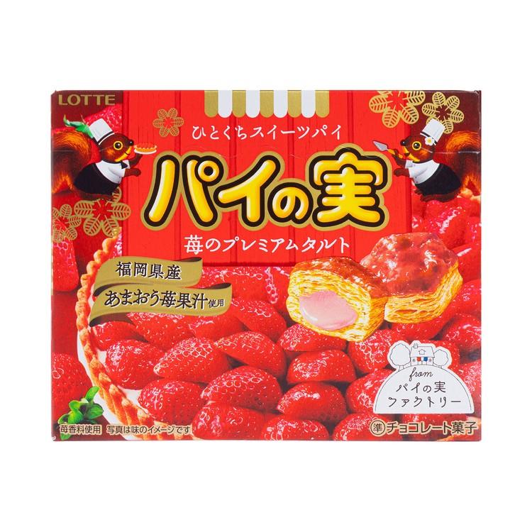 樂天 - 松鼠酥-草莓撻味 (期間限定) - 69G