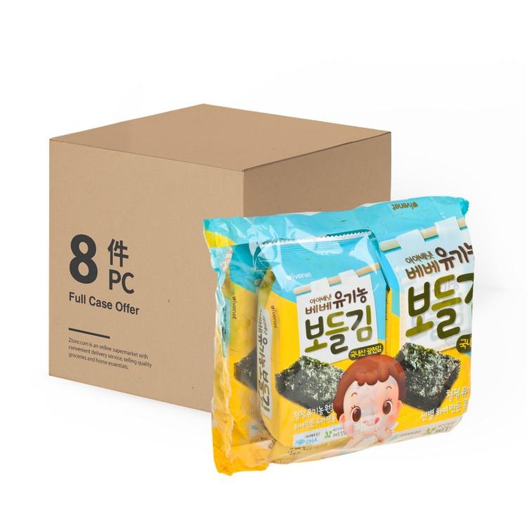 貝貝 - 有機營養紫菜-原箱 - 4GX4X8